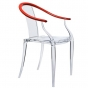 Fauteuil Me Ming rouge