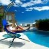 Aview sunbed, chaise longue design de jardin