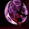 Fauteuil Bubble chair lumineux par Rousseau