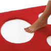 Tapis troué design Pomp