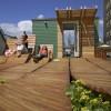 Un jardin sur le toit à Greenwich Village