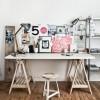 Comment fabriquer un bureau esprit industriel pas cher (pour moins de 100 euros)