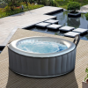 SPA gonflable Silver Cloud Bubble par MSPA