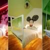 Chambre de l'hotel Majestic de Singapour